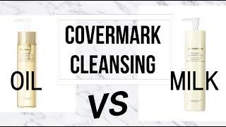 Oil VS Milk カバーマーク(Covermark)クレンジング対決