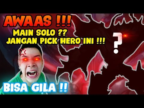 MAIN HERO INI SOLO = BISA GILAAAAA!! - Mobile Legends