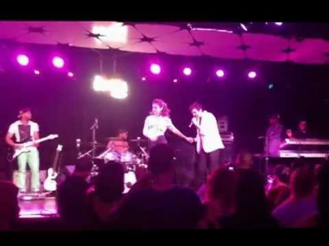Denise Russo At The Conga Room Stage In LA Live