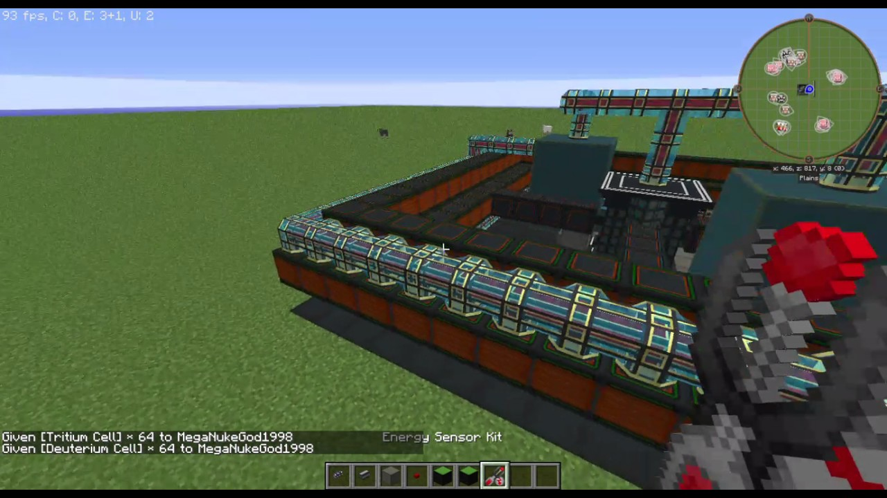 Nuclearcraft self sustaining reactor