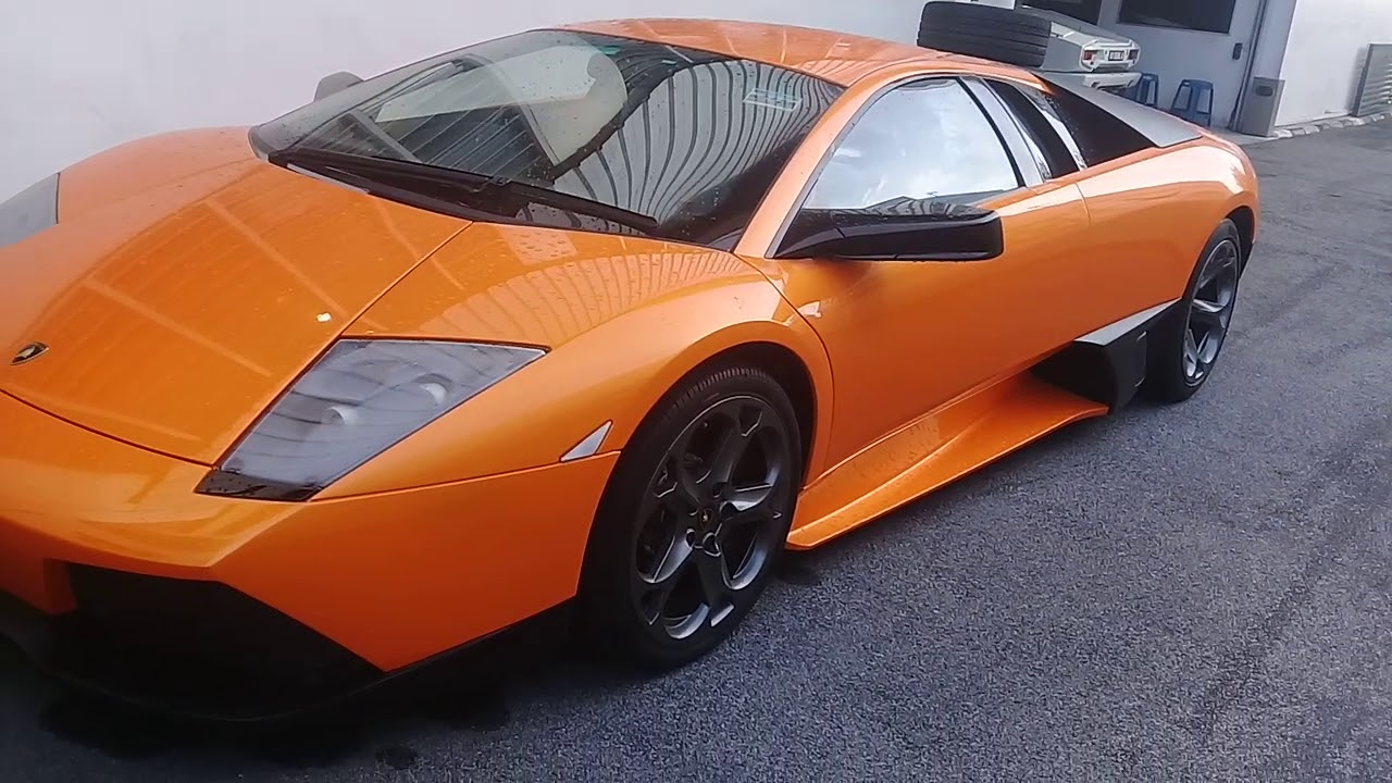 Lamborghini Kuala Lumpur Servis Area Youtube