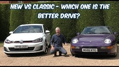 Modern Hot Hatch or Classic Sports Car? VW Golf GTI Vs Porsche 968 Sport