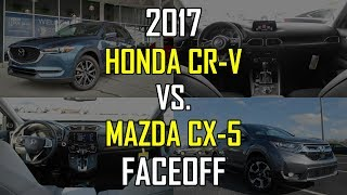 2017 Mazda CX-5 Grand Touring vs. 2017 Honda CR-V EX-L: Faceoff Comparison