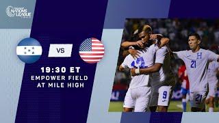 2021 CNL Finals   Honduras vs United States