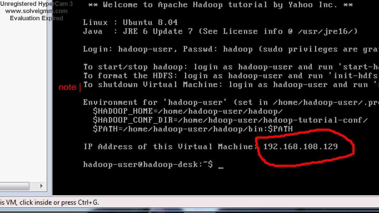 Hadoop virtual machine installation on windows youtube hadoop virtual machine installation on windows baditri Image collections
