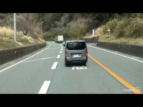 国道18号 横川駅から軽井沢バス事故現場付近まで、碓氷バイパスを25トントラックで走った動画です。