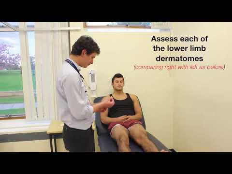 Lower Limb Neurological Examination   OSCE guide New Version   YouTube 360p