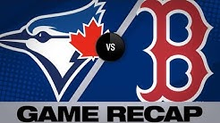 Vazquez caps comeback with walk-off in 10th  | Blue Jays-Red Sox Game Highlights 6/21/19