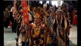 GATHERING OF NATIONS POW WOW 2019  Grand Entry Friday