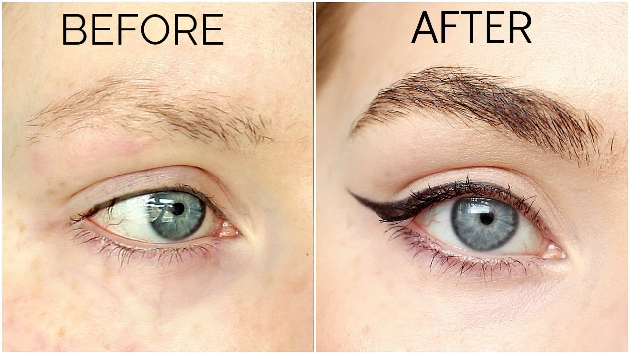 How To Grow Eyebrows Fast And Thick Youtube