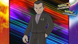 Pokemon Ultra Sun and Ultra Moon - Giovanni Battle! (Team Rainbow Rocket)