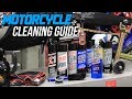 How To Clean A Motorcycle | Sportbiketrackgear.com