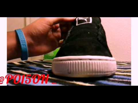 Puma Suede Full Restoration Time-lapse