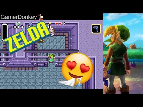 The Legend Of Zeld A Link To The Past Gameplay Walkthrough Mobile IOS Android Gameplay (GBA)