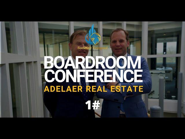 Boardroom Conference #1 - Adelaer Real Estate - Sociëteit Vastgoed