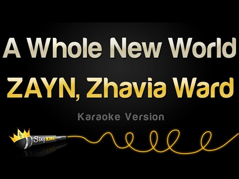 ZAYN Zhavia Ward - A Whole New World Karaoke