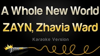 Gambar cover ZAYN, Zhavia Ward - A Whole New World (Karaoke Version)
