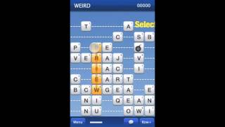 WordnRoll, a new genre word puzzle game for iPhone and iPad