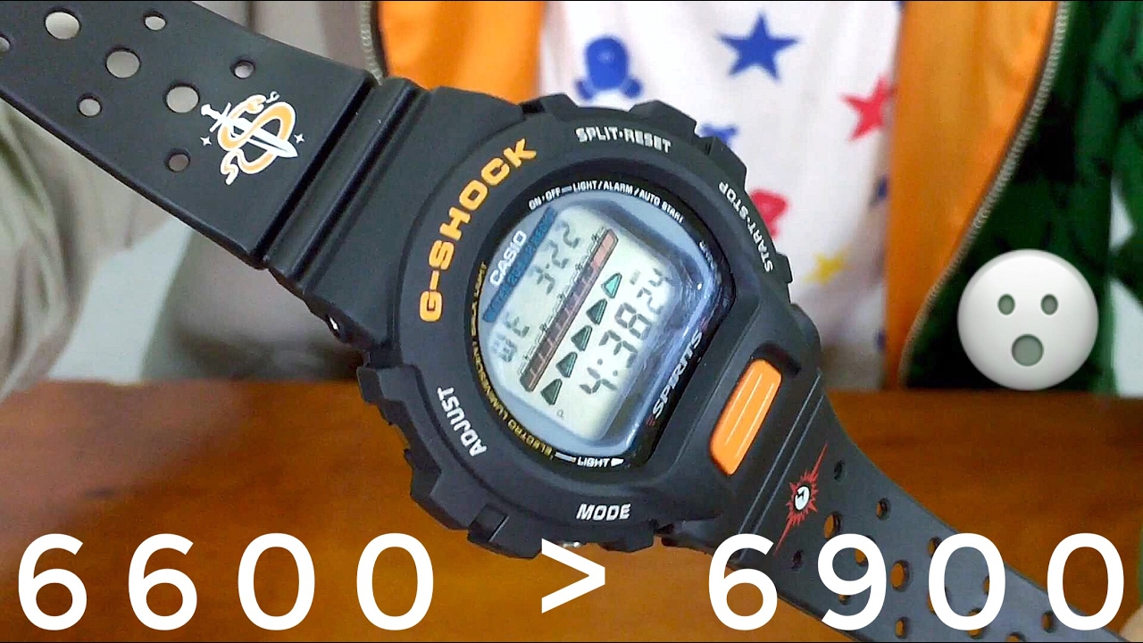 Casio Vintage Us Navy Seals G-shock Dw-6600d Miliary Watch Review