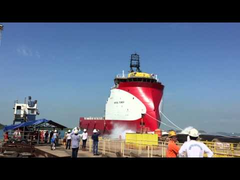 LAUNCH OF BRITOIL POWER PSV