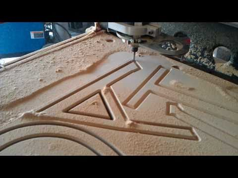Torchmate 2x4 -- CNC Router -- Convoyant Sign 3