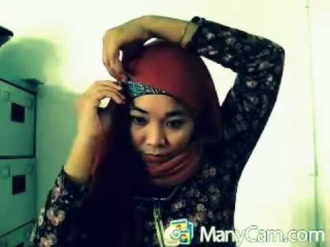 Hijab Tutorial Daily#simple#paris#cute#part3#Batam
