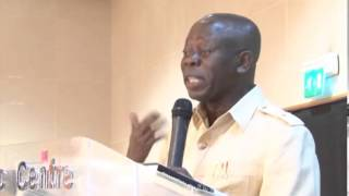 FINANCIALIZATION - NEW KID IN TOWN - GOV. OSHIOMOLE - FESTOUR