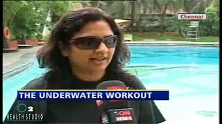 Aqua aerobics, a brand new fitness routine Videos Health IBNLive #1 2011