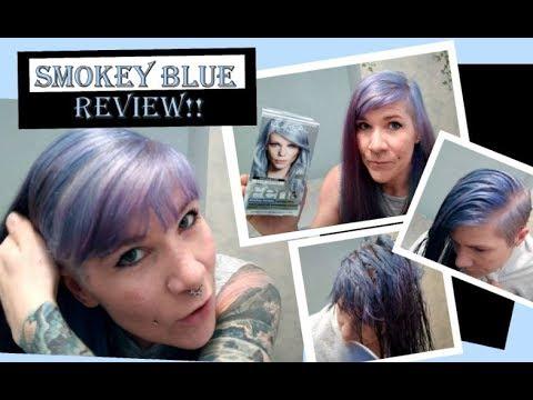 L'Oreal Paris Feria Smokey Pastels- Smokey Blue Hair Dye Application and Review!!