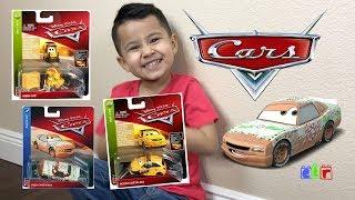 DISNEY CARS 3 2018 Case F | UNBOXING NEW CARS 3 DIECAST HONK CHO, GREG CANDYMAN, PETRO CARTALINA