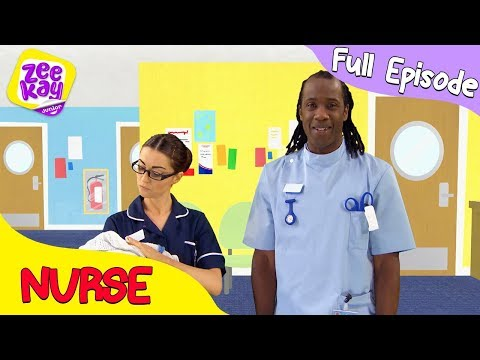 Let's Play: Nurse | FULL EPISODE | ZeeKay Junior