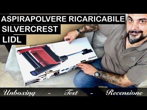 aspirapolvere-ricaricabile-silvercrest-lidl-2018-(tipo-dyson).-sistema-cyclone-a-batteria.-sacchetto
