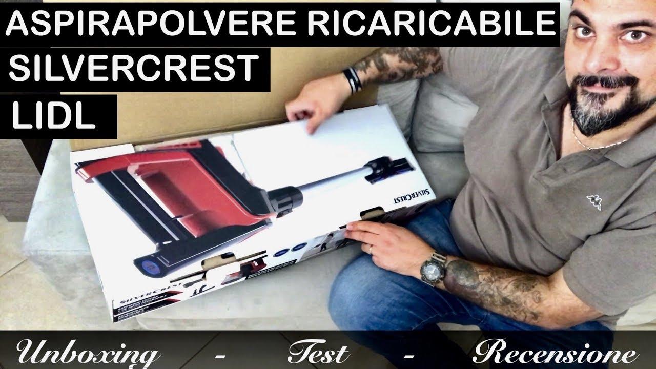 Aspirapolvere Ricaricabile Silvercrest Lidl 2018 Tipo Dyson