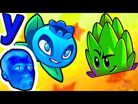 Голубика помогает ПРоХоДиМЦу с Новым Растением! #798 игра Растения против Зомби 2