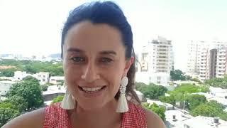 La comunicadora social Camila Peña, envía sus felicitaciones