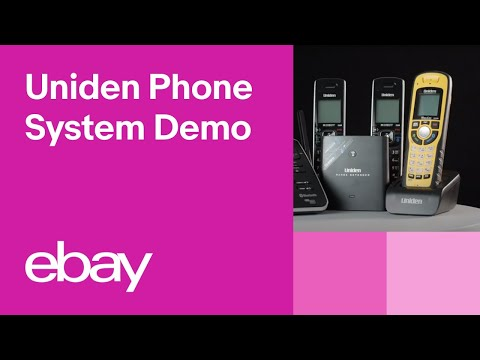 Uniden XDECT 8355 + 3 Cordless Phone System Demo | EBay Top Products