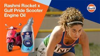 Rashmi Rocket x Gulf Pride Scooter Engine Oil