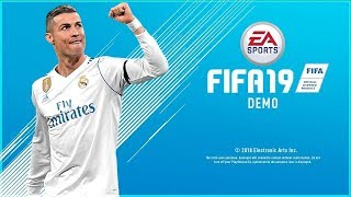 FIFA 19 DEMO IS OUT! - UEFA CHAMPIONS LEAGUE GAMEPLAY + THE JOURNEY (ROAD TO 20K SUBS!)