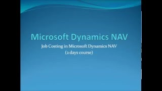 Microsoft Dynamics NAV and Dynamics 365 Trainer . Official Training Courses onsite and online.