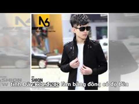 Áo Khoác Kaki Nam Phối Dây Kéo Luxury - S01 (Đen)