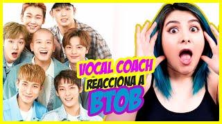BTOB ¿TODOS CANTAN Y RAPEAN?   VOCAL COACH REACCIONA   Gret Rocha