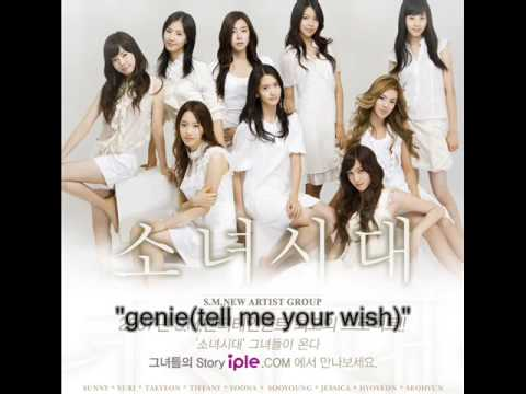 [mp3 dl]snsd - genie(tell me your wish)