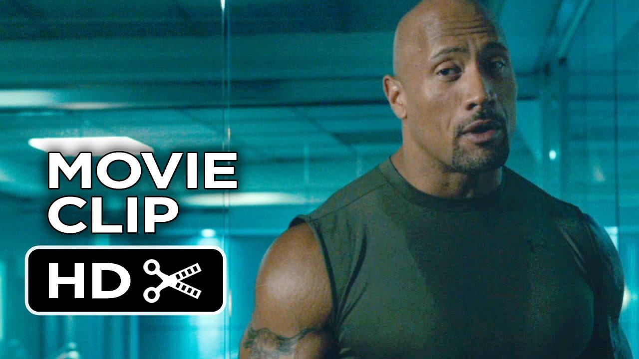 700b86c55560f2 Furious 7 Movie CLIP - Hobbs and Shaw Fight (2015) - Dwayne Johnson ...
