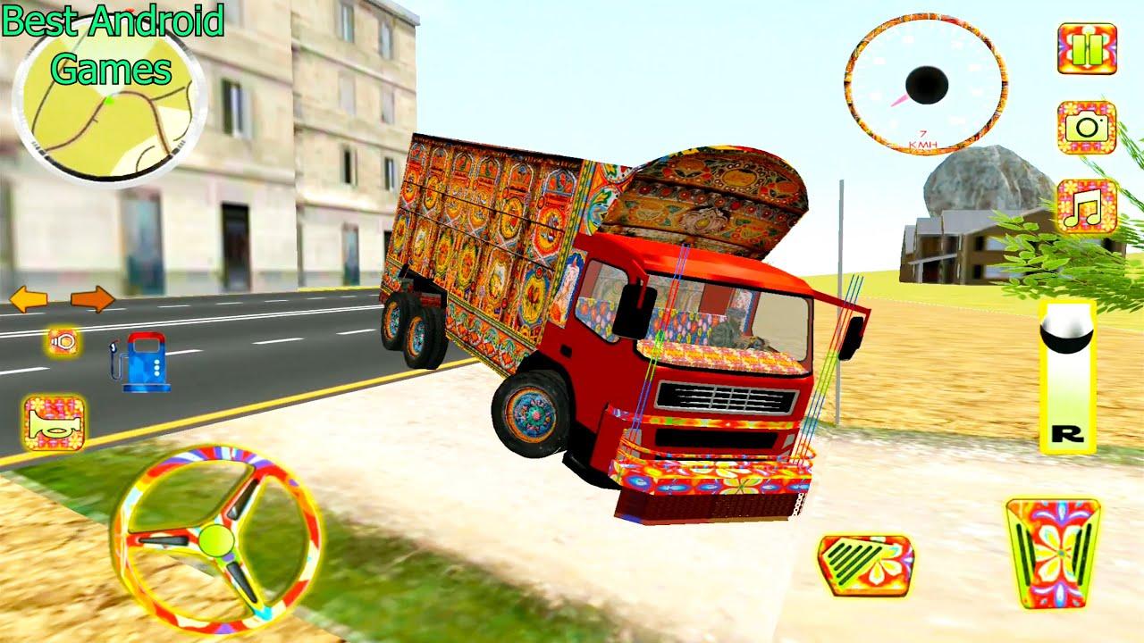 صورة فيديو : سائق شاحنة باك – لعبة شاحنة المحاكاة – محاكي القيادة – العاب سيارات – ألعاب أندرويد