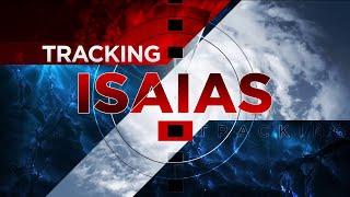 2 p.m. Saturday Isaias update