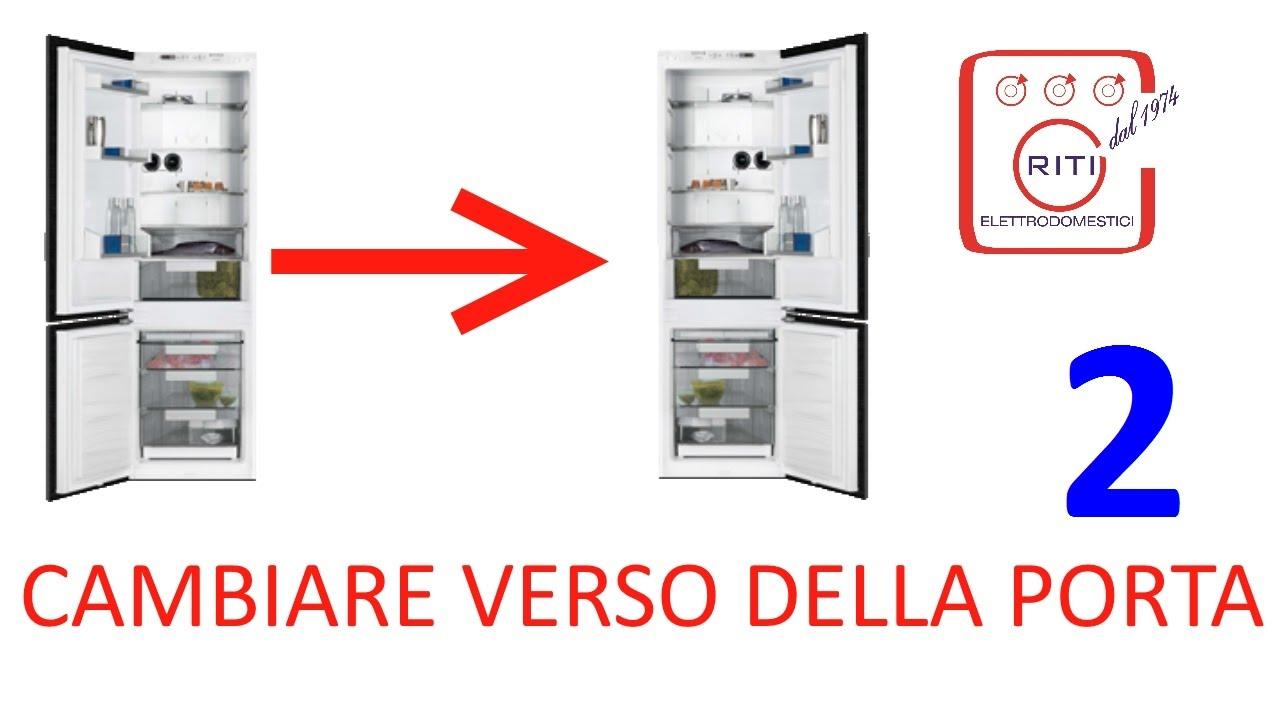 Cambiare il verso delle porte del frigo 2 (Rex-Electrolux) - YouTube
