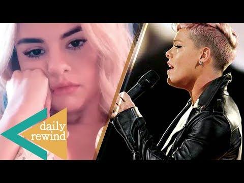 Justin Bieber LOVES Selena Gomezs New Hair, Pink DENIES Shading Christina Aguilera  DR