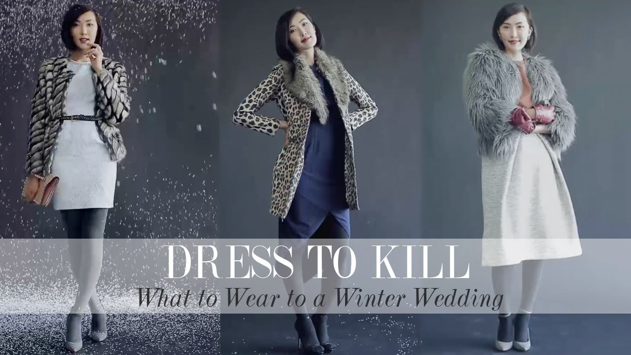 what to wear to a winter wedding youtube