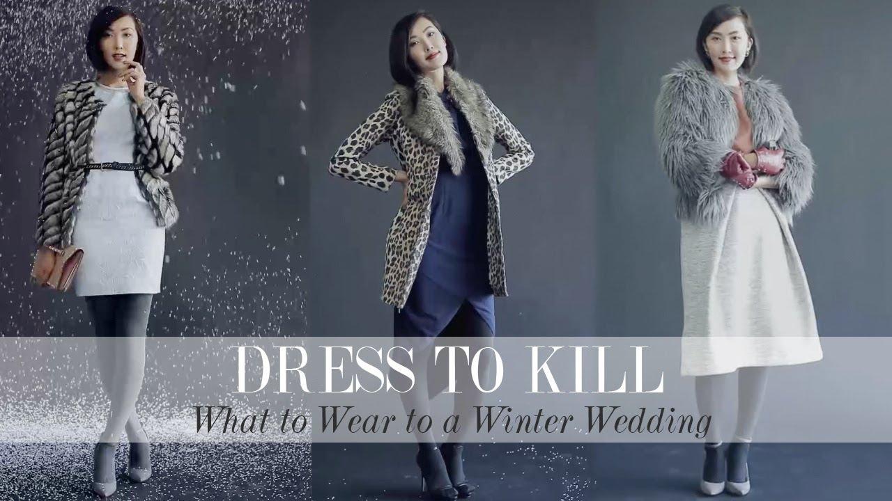 Outfits Wear Winter Wedding