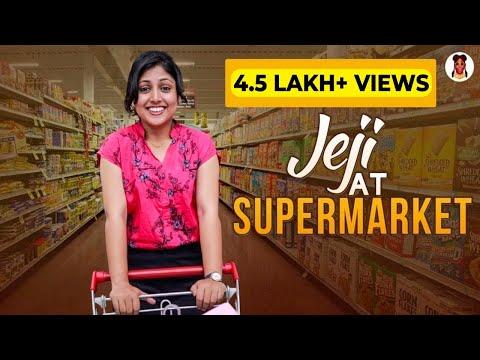 Jeji at Supermarket | Shopping Addiction | Jejamma